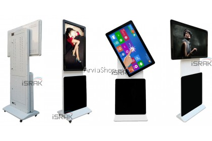 Arvia Floor Standing Kiosk Rotatable SERIES (Signage Display ) 43 Inch  ANDROID 5.1 4GB RAM 128GB SSD FLR101W