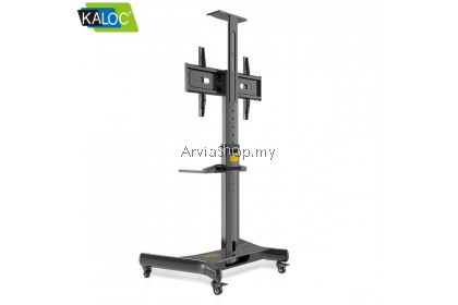 Kaloc Portable TV Stand Height Adjustment LCD TV Mount 32-55 inch  - TS161-BLK