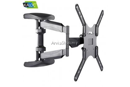 KALOC Adjustable Full Motion Ultra Slim Swivel Tilt TV Wall Mount for 40 to 70 inch -X8