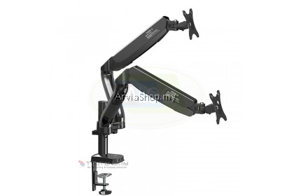 "Kaloc Flexible Spring Loading Arm Stand for Screen 17"" to 32""- DS902-BLK"