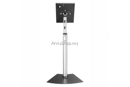 "Brateck Anti-Theft Height Adjustable IPad Floor Stand Up To 9.7""-10.5"" - TSPAD12-05N-BLK"